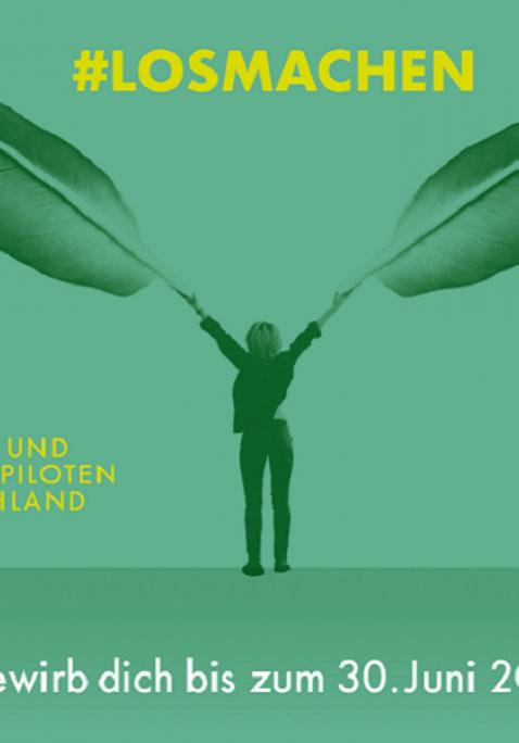 Flyer Bewerbungsphase 2019 Kultur- und Kreativpiloten Deutschland