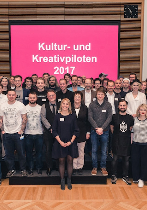 Start-up Night der Kreativen: Titelträger 2017
